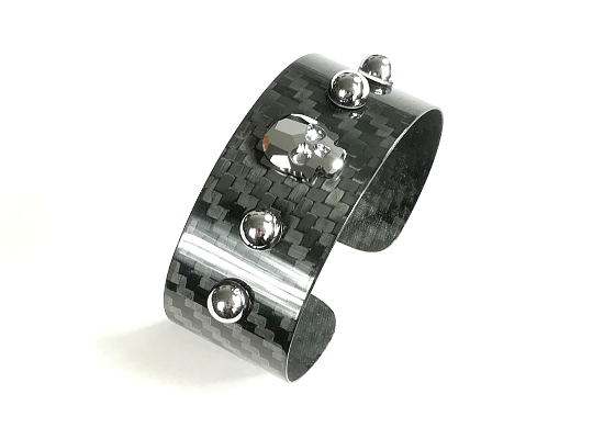 Carbon Bracelets Woman Wide Skst